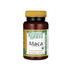Maca Extract 500mg Superior Herbs - 60caps