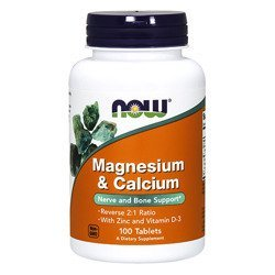 Magnesium and Calcium with Zinc and Vitamin D3 - 100tabs