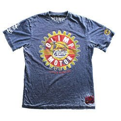 Man's T-Shirt Moto Panther - Grey