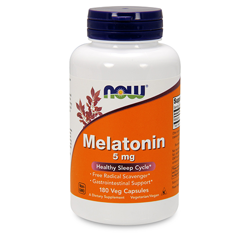 Melatonin 5mg - 180vcaps.