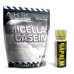 Micellar Casein - 1000g + FITNESS AUTHORITY - Xtreme Napalm Shot - 60ml