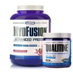 Myofusion Advanced - 1814g + Creatine Qualitin - 300g