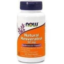 Natural Resveratrol 50mg - 60vegcaps