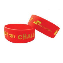 Opaska Wristband MP - Enjoy The Challenge - Promocja