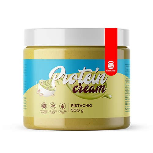 Pistachio Cream Smooth Protein Cream Krem proteinowy (krem do smarowania) 500g