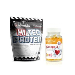 Protein - 1000g + Omega 3 - 30caps.
