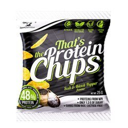 Protein Chips - 25g - Salt & Black Pepper