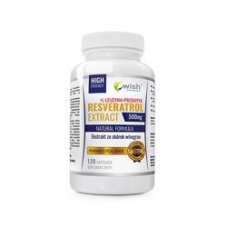 Resveratrol Extract 500mg - 120caps