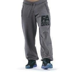 Sweatpants - Drawcord Washed - Grey