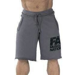 Sweatshorts - Washed - Grey