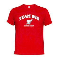 T-Shirt - BSN Finish First - Red