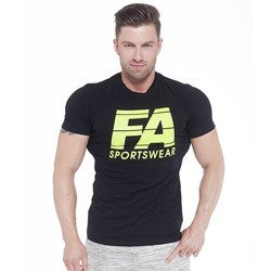 T-Shirt - Basic Light - Black - Promocja