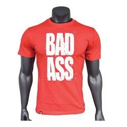 T-Shirt - Double Neck - BAD ASS - Red