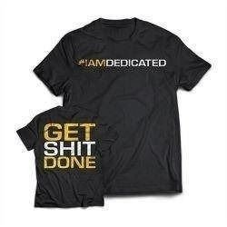 T-Shirt - Get Shit Done - Promocja