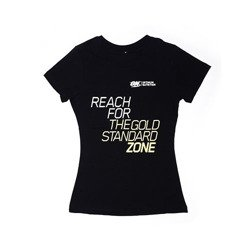 T-shirt Gold Standard Zone - Black