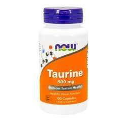 Taurine 500mg - 100caps