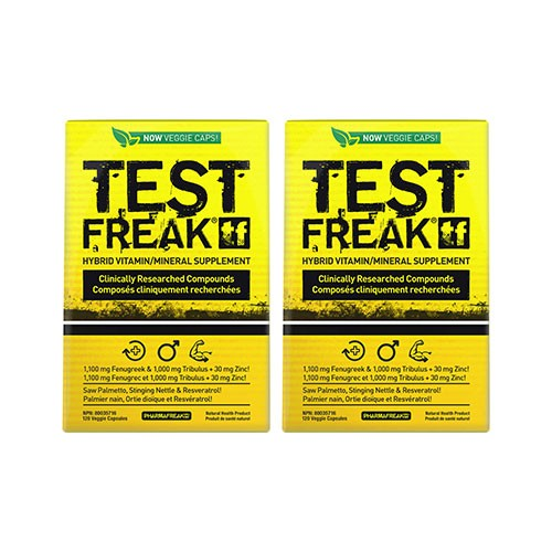 Test Freak - 2x 120caps