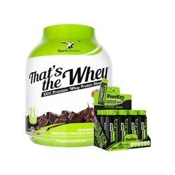 That's The Whey - 2270g + Pump Kick - 12x 80ml