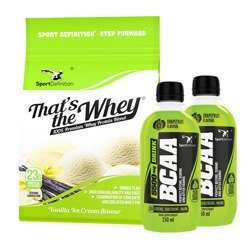 That's The Whey - 700g + BCAA 5500 Drink - 2x 250ml