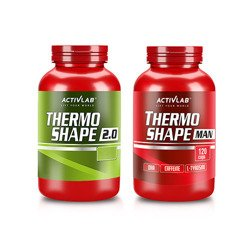 Thermo Shape 2.0 - 90caps. + Thermo Shape Man - 120caps.