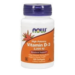 Vitamin D3 2000IU - 120soft gels