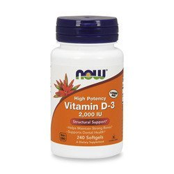 Vitamin D3 2000IU - 240softgels
