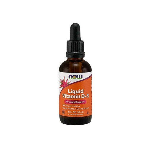 Vitamin D3 400IU Liquid - 60ml