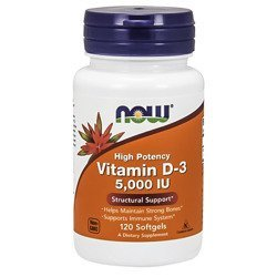 Vitamin D3 5000IU - 120softgels