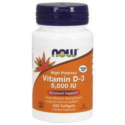 Vitamin D3 5000IU - 240softgels