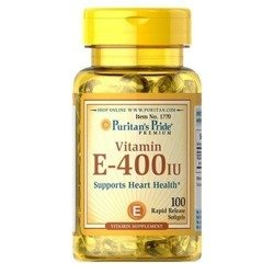Vitamin E 400IU - 100softgels