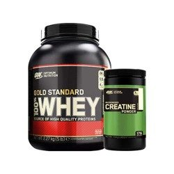 Whey Gold Standard - 2270g + Creatine - 634g