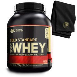 Whey Gold Standard - 2270g + Ręcznik (30 Year Gym Towel) GRATIS