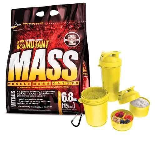e26e73b297a6 Mutant Mass - 6800g + Shaker + Próbka - PVL - cena
