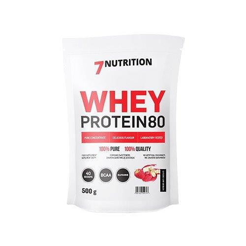 008048616dba Whey Protein 80 - 500g - 7 NUTRITION - cena