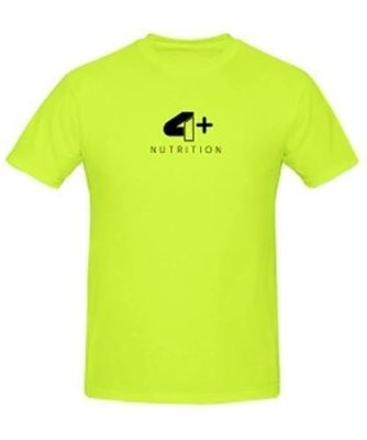 4+ Nutrition - T-Shirt - Yellow