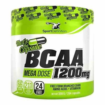 BCAA 2:1:1 1200mg - 264caps