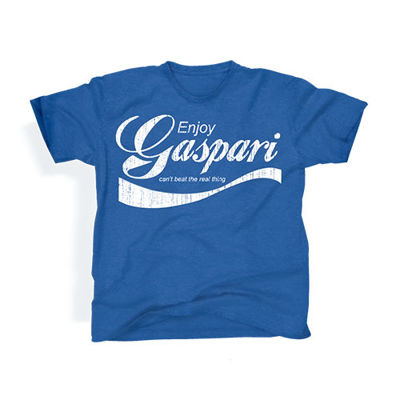 Koszulka - T-shirt - Enjoy Gaspari - Blue