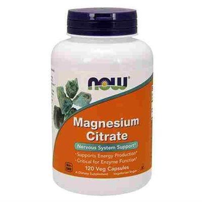 Magnesium Citrate - 120vcaps