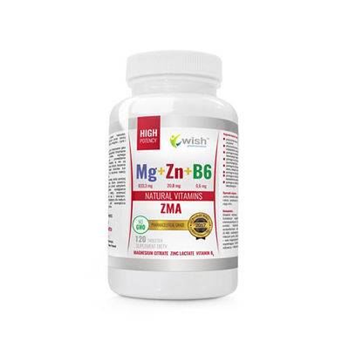 Mg+Zn+Vit B6 (ZMA) - WISH Pharmaceutical