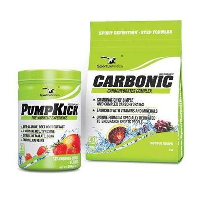 Pump Kick - 450g + Carbonic - 1000g