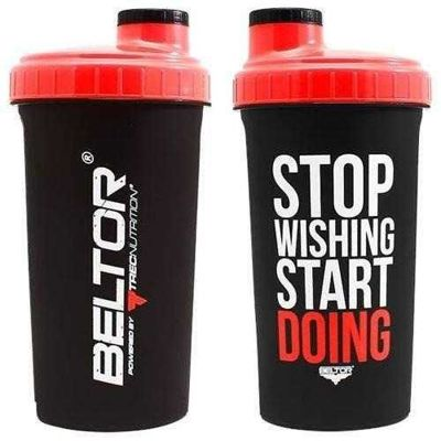 Shaker - 700ml - Stop Wishing Start Doing