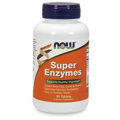 Super Enzymes - 90tabs - Promocja