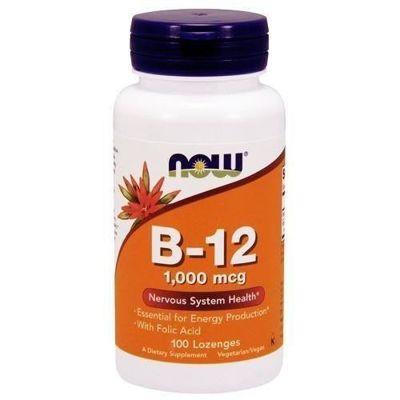 Vitamin B-12 1000mcg - 100lozenges