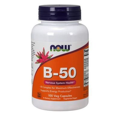 Vitamin B-50 - 100vcaps